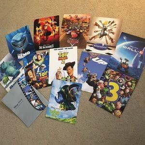 Disney Pixar 11 Collectible Lithograph Set Litho